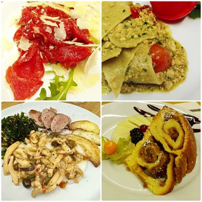 Italian Friuli winter dishes