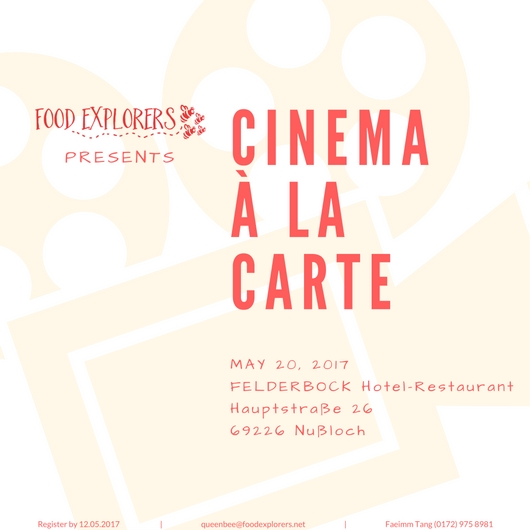 Cinema à la Carte poster