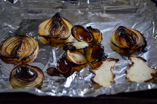 Charred Onions