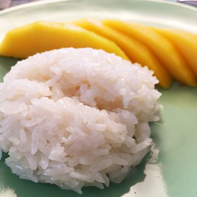 Food Explorers Cook and Lunch Recipe Thai Sticky Rice with Mango
