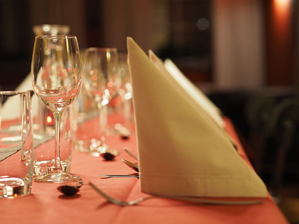 Table settings for Cook-and-Dine