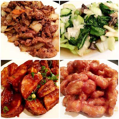 A selection of dishes at Yangda, Karlsruhe