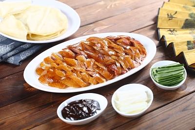 Peking Duck meal