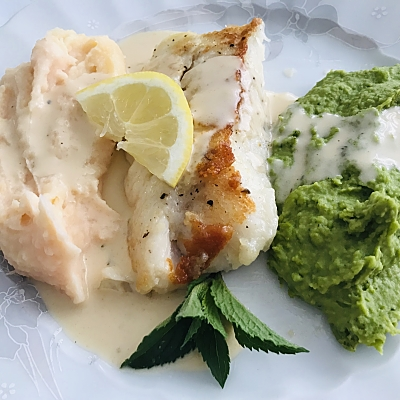 Food-Explorers-Cook-and-Lunch-Recipe-Cod-Minted-Pea-Puree