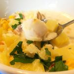 Sweetcorn and Smoked Haddock Chowder