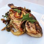Grilled Whole Sea Bream