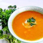 Pumpkin and Coconut Milk Soup
