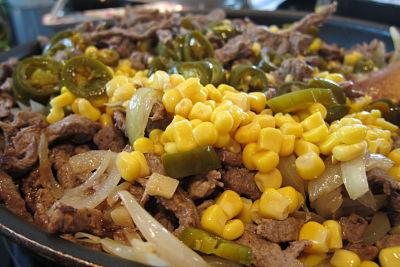 Food Explorers Cook and Lunch Recipe Fajitas