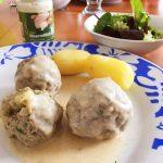 Meatballs in Horseradish sauce
