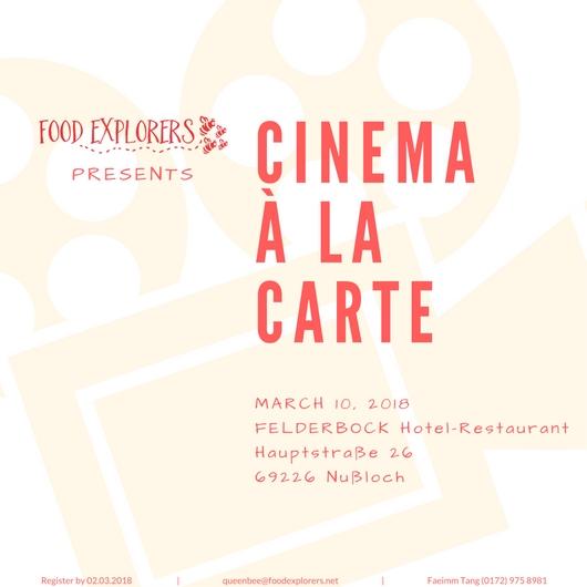 Cinema à la Carte_2018