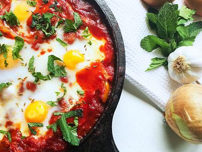 Food Explorers Cook-and-Lunch Brunch Shakshuka